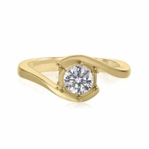 טבעת אירוסין, דגם אנה