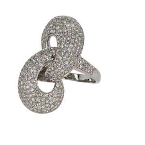טבעת יהלומים דגם מארין  2.25 קראט