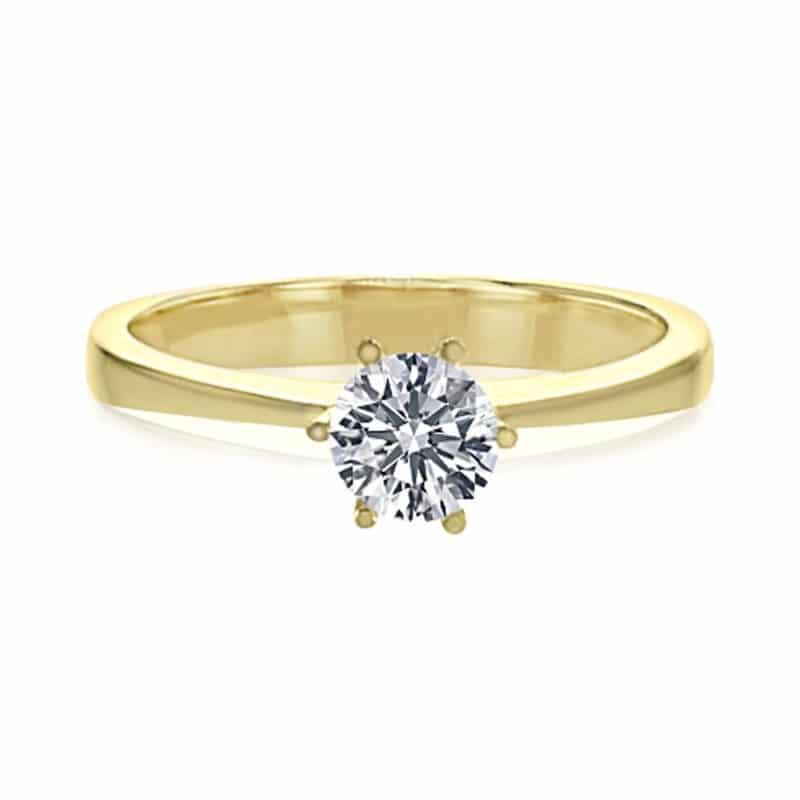 טבעת אירוסין, דגם נינה