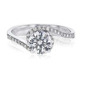 טבעת אירוסין, דגם אלמה