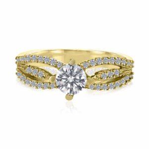 טבעת אירוסין, דגם קארין