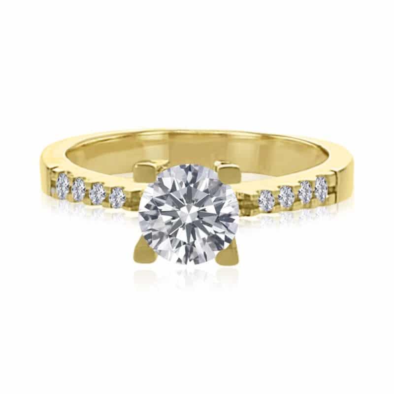 טבעת יהלום, דגם אלכס