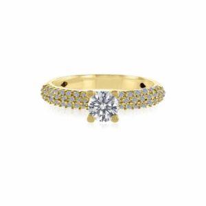 טבעת יהלום, דגם אמיליה