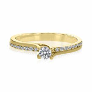 טבעת יהלום, דגם ניקול