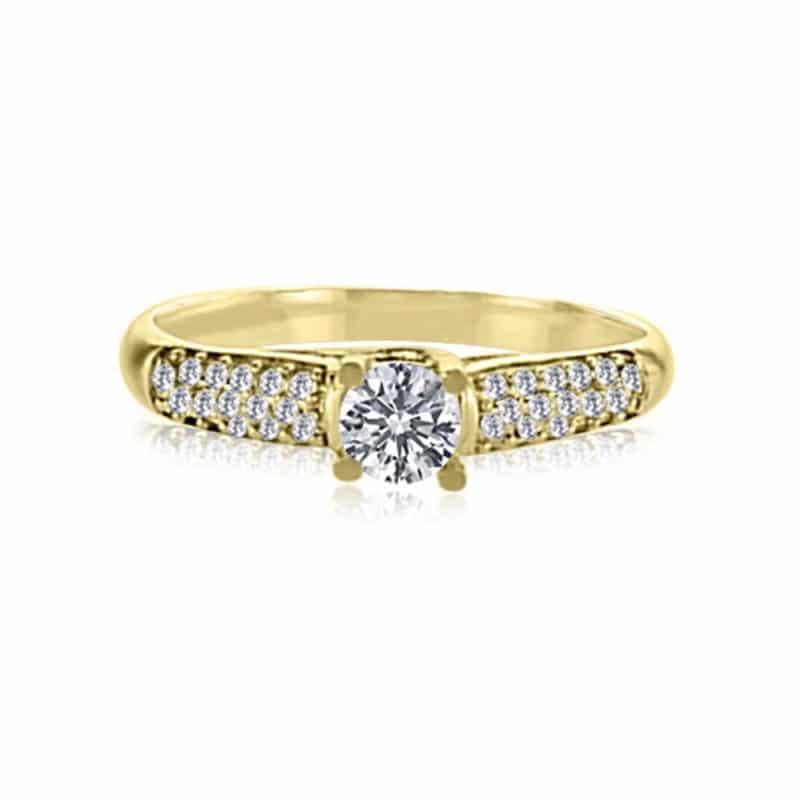 טבעת יהלום, דגם ליב