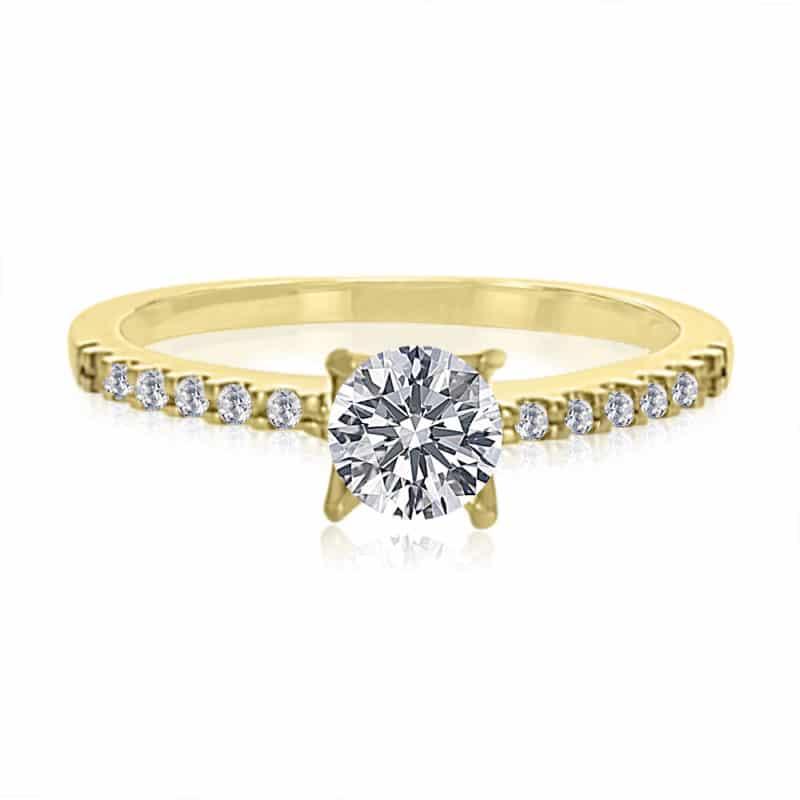 טבעת אירוסין דגם אור