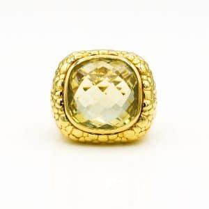 טבעת זהב צהוב 16.80 גרם