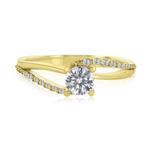 טבעת אירוסין, דגם בר