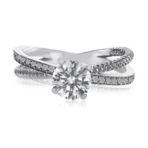 טבעת אירוסין, דגם אלזה