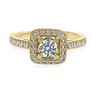 טבעת יהלום, דגם נלי